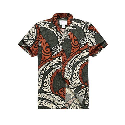Hawaii-Hangover-camisa-medio-multicolor-camisa-hawaiana-de-los-hombres