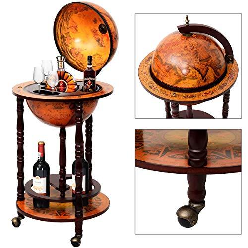 Globusbar Globus Bar Minibar Hausbar Weltkugel Cocktailbar Dekobar Tischbar NEU - 5