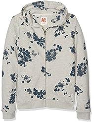 Unbekannt Mädchen Sweatshirt Zip Sweater Poppy