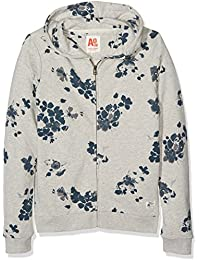 AO 76 Zip Poppy, Sweat-Shirt àCapuche Fille