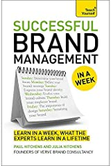 [(Successful Brand Management in a Week: Teach Yourself)] [Author: Paul Hitchens] published on (August, 2014) Paperback