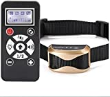 Dog Training Collar, Armmi Waterproof Rechargeable 800 Yards Remote Auto Pet Stop Bark Device Large LCD Display, Easy to Use, Training Your Dogs Humanely, Vibration - Sound - Automation Control
