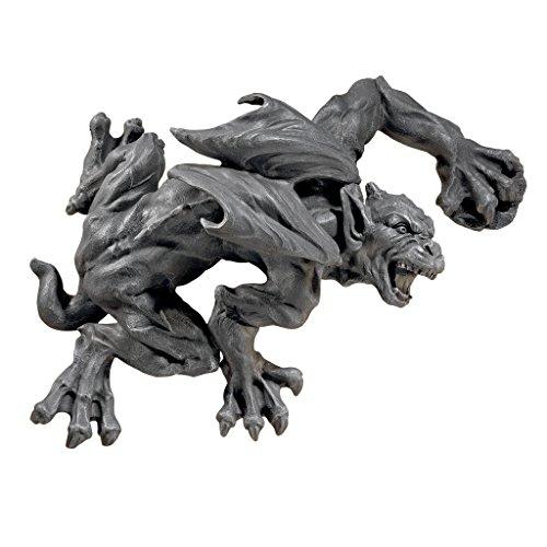 'Interpret Design Toscano jq7794Slither und Squirm Gargoyle Wand Skulptur, grau, 15x 44,5x 42cm