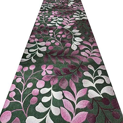 LXHONG-Teppichläufer,Rutschfestes Antistatik-Material Staubentfernung Pflegeleicht Filzmischung Hoteltreppen, Individuelle Anpassung Der Stützen (Color : A, Size : 1.2x7m)
