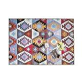 KELE Nordischen Stil Teppich, Dicken Lammfell Wohnzimmer couchtisch Schlafzimmer Flanell-Decke -A 63x91inch(160x230cm)