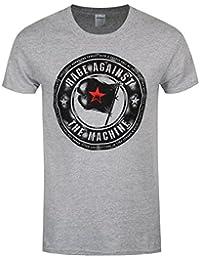 Rage Against the Machine Herren T-Shirt Bulls Sport grau