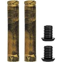 RS81MIXGOLD, Pareja de manguitos mix bestial wolf especiales para scooter negro / dorado 155 mm