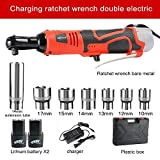 26V Electric Impact Wrench Lithium-Ion Battery Led Working Light Electric Wrench Cordless Electric