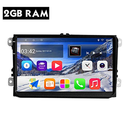 KKXXX S9 Plus Für VW Volkswagen Android 7.1 Auto Stereo 9 Zoll GPS Navigation Auto Radio AM / FM / RDS CANBUS ISO Kabel 2 GB RAM 32 GB ROM Spiegel Link