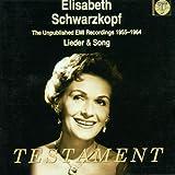 Elisabeth Schwarzkopf - Enregistrements inédits (1955-1964) - Lieder & mélodies
