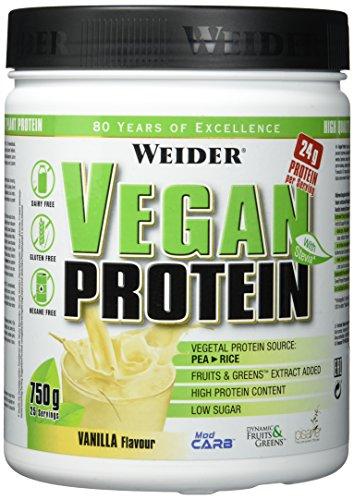 Weider, Vegan Protein, Vanille, 1er Pack (1x 750 g)