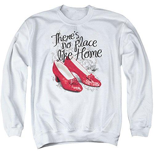 Wizard of Oz - Ruby Slippers Sweater für Herren, X-Large, White