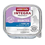 Animonda Integra Protect Diabetes mit Kabeljau | 16x 100g