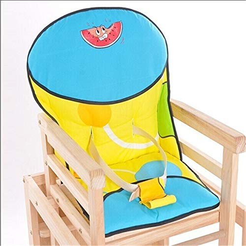 FIFY Baby Kind Baby Massivholz Esszimmer Stuhl Baumwolle Pad Universal Sitzbezug, A -