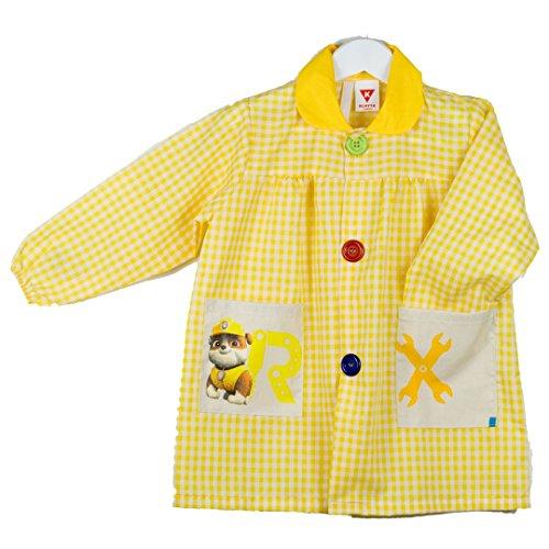 KLOTTZ 4861-PAW-AMARILLO-3 - BABY PATRULLA CANINA MANDILON GUARDERIA niñas color: AMARILLO talla:...