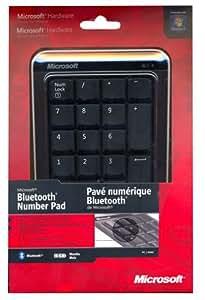Microsoft Bluetooth Number Pad Pavé numérique pour PC portable