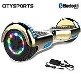 CITYSPORTS Hoverboard 6.5 Pollici, Scooter Elettrico dell'equilibrio di Auto,...