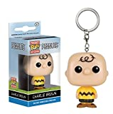 Die Peanuts - Vinyl Schlüsselanhänger - Charlie Brown