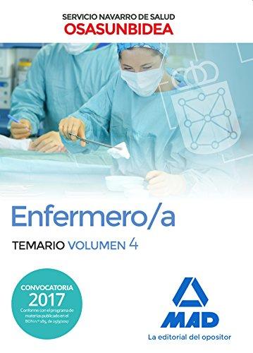 Enfermero/a del Servicio Navarro de Salud-Osasunbidea. Temario volumen 4