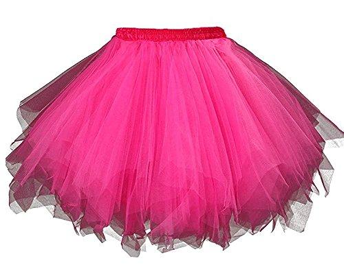 0s Vintage Tutu Ballet Half Slip Skirt Bubble Dance (Womens Tutu)