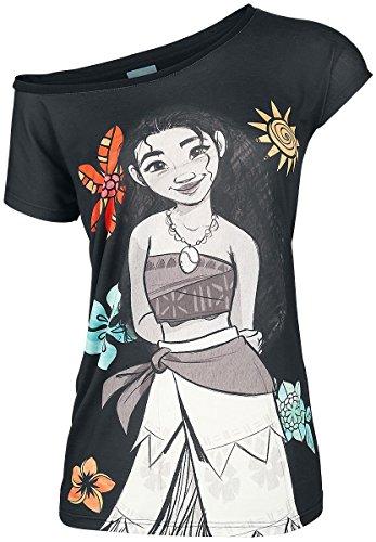 Vaiana Flowers T-shirt Femme multicolore Multicolore