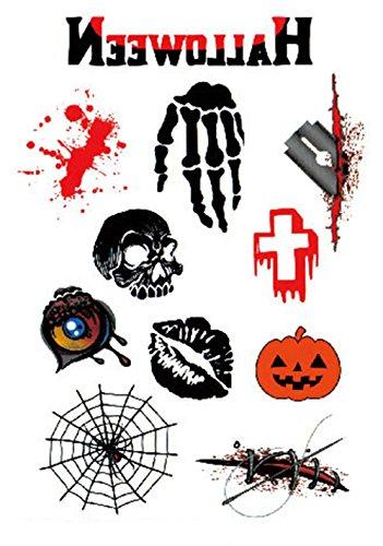 Lanlan Halloween Horror Serie Funny Tattoo Serie (Sweatshirt Praxis Hoody)