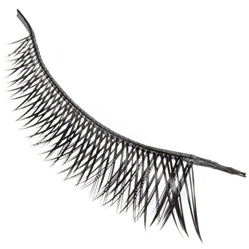 TOOGOO(R) 10 paires d'extension de cils noirs faux cils de cosmetique reutilisables