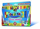 Carioca Stereo magic20spezielle radierbar/ändern Farbe Tinte Marker
