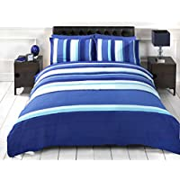 Signature Striped Adults Teenagers Quilt Duvet Cover