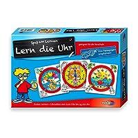Noris-606076152-606076152-Lern-die-Uhr-Kinderspiel Noris 606076152 606076152-Lern die Uhr, Kinderspiel -