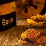 100% Natural Organic Indian Turmeric/Haldi Powder/Curcuma spices -80 gm - USDA Certified, The Earth Reserve
