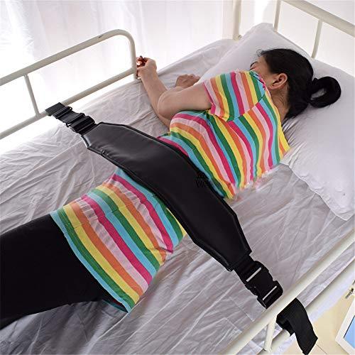 Rollstuhlgurt Hüftgurt Rückhaltesystem Festgurt Verengte Bänder mit verstellbaren Trägern Patientenpflege Sicherheitsgurt Stuhl Taillengurt (schwarz)