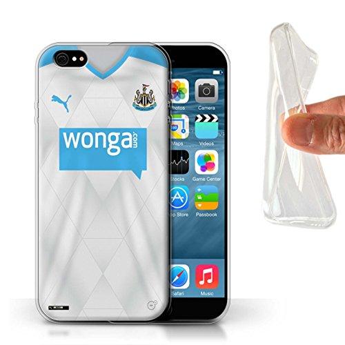 Offiziell Newcastle United FC Hülle / Gel TPU Case für Apple iPhone 6S / Pack 29pcs Muster / NUFC Trikot Away 15/16 Kollektion Fußballer