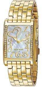Pierre Cardin Damen-Armbanduhr Analog Quarz Edelstahl beschichtet PC105172F12