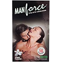 PleasureWorld - Man Force-Extra-punktierte Kondome -Jasmine aromatisiert - 10 s preisvergleich bei billige-tabletten.eu
