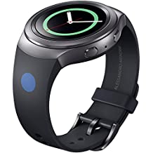 Samsung ET-SRR72MBEGWW - Correa para smartwatch Samsung Gear S2 Sport, diseño Mendini, color negro