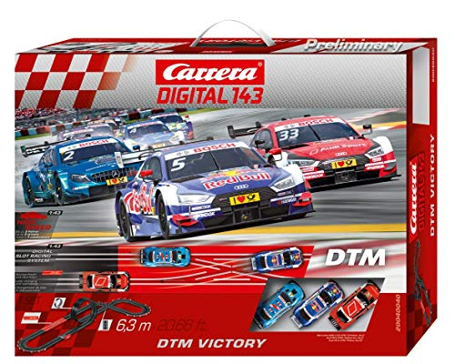 Carrera DIGITAL 143 DTM Victory 20040040 Autorennbahn Set