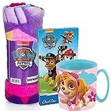 JT Design für Paw Patrol Süßes Geschenkset mit Kuscheldecke Pink und Kakaotasse Skye