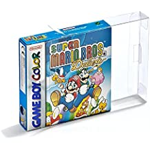 Childhood Carros 10pcs claro CIB caja de manga de la caja para Game Boy Color Advance GBA GBC Cartridge Protector