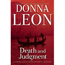 Death and Judgment: A Commissario Guido Brunetti Mystery (Commissario Guido Brunetti Mysteries (Paperback))