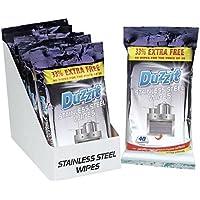 3x Duzzit 40Edelstahl-Tücher Originalverpackung