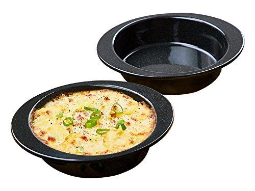 chg 3463-53 MAX Grill- und Ofenformen aus hochwertiger Emaille, 2 teilig