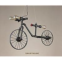 FWEF Nordic Ferro Retro Biciclette Chandelier Cafe