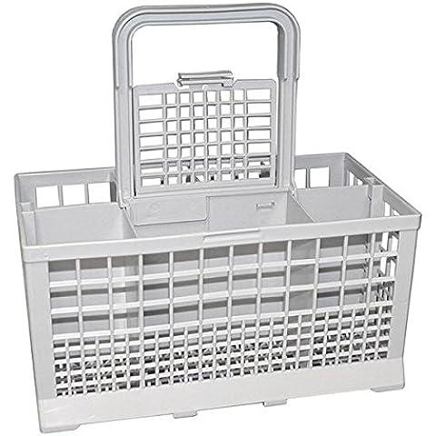 LeaBen - Cesto para cubiertos para lavavajillas de 60 cm de ancho (235 x 136 mm)