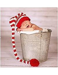 binlunnu recién nacido fotografía Props Boy Girl – Gorro para disfraz  trajes ... dafcf3285b8