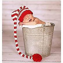 binlunnu recién nacido fotografía Props Boy Girl – Gorro para disfraz trajes  ... ab4d571b917