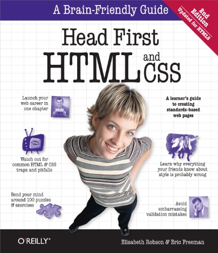 Head First HTML and CSS: A Learner's Guide to Creating Standards-Based Web Pages (English Edition)