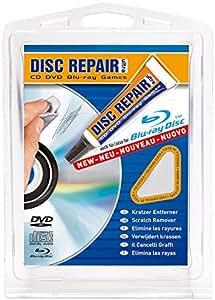 Disc Repair Ultra Pâte réparatrice pour CD/DVD/Blu-Ray avec chiffon de nettoyage inclus