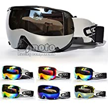 100% UV protection Anti-Fog máscara casco de esquí gafas reflectante Gafas de motocross Cool deporte estilo para motocicleta Dirt Bike