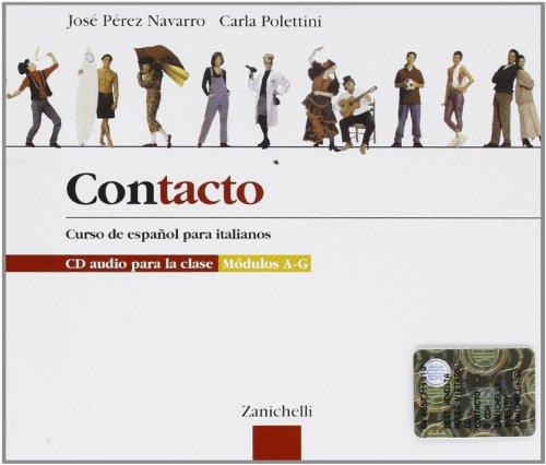 Contacto. Curso de español para italianos. Box 3 CD audio para la clase. Modulos A-G
